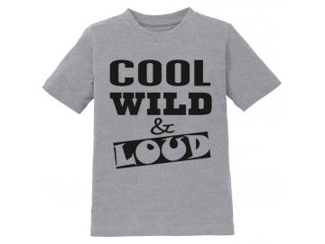 Kinder-T-Shirt Cool Wild Loud