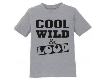 Kinder-T-Shirt Cool Wild Loud
