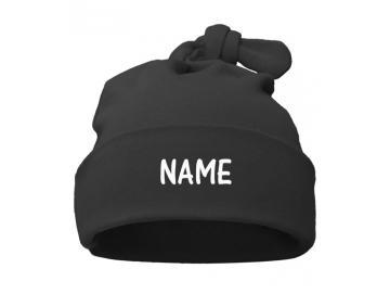 Babymütze mit Namen personalisiert