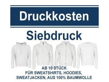Druckkosten für Sweatshirts