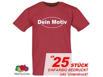 T-Shirts inkl. Siebdruck